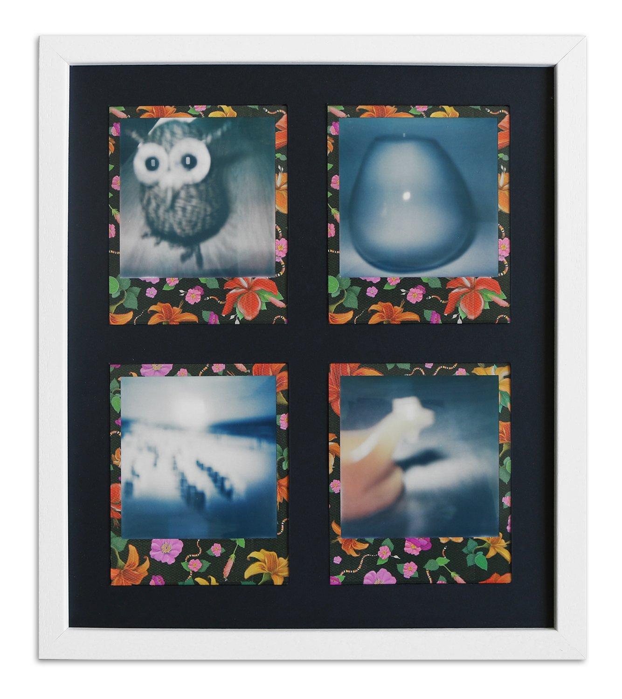 Polaroid Bilderrahmen A850 Weiß, gemasert 24,6 x 28,4 Normalglas ...