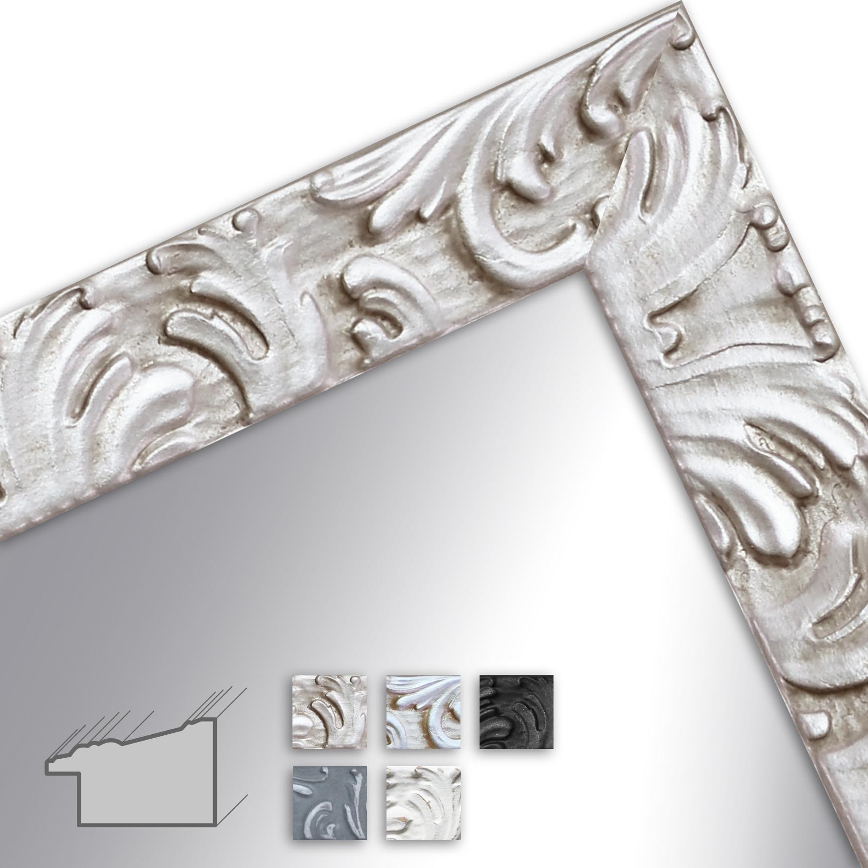 H650 Spiegel Massanfertigung Barock Modern Massivholz Wandstyle Com